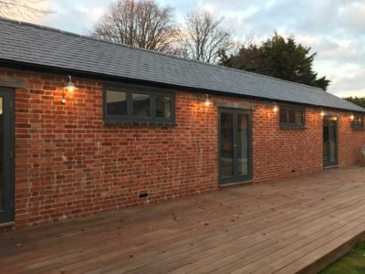 Single Storey Extension with decking