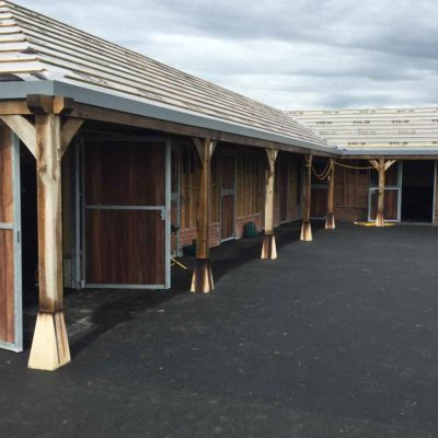stables - single storey building