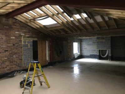 timber-roof Project Swindon