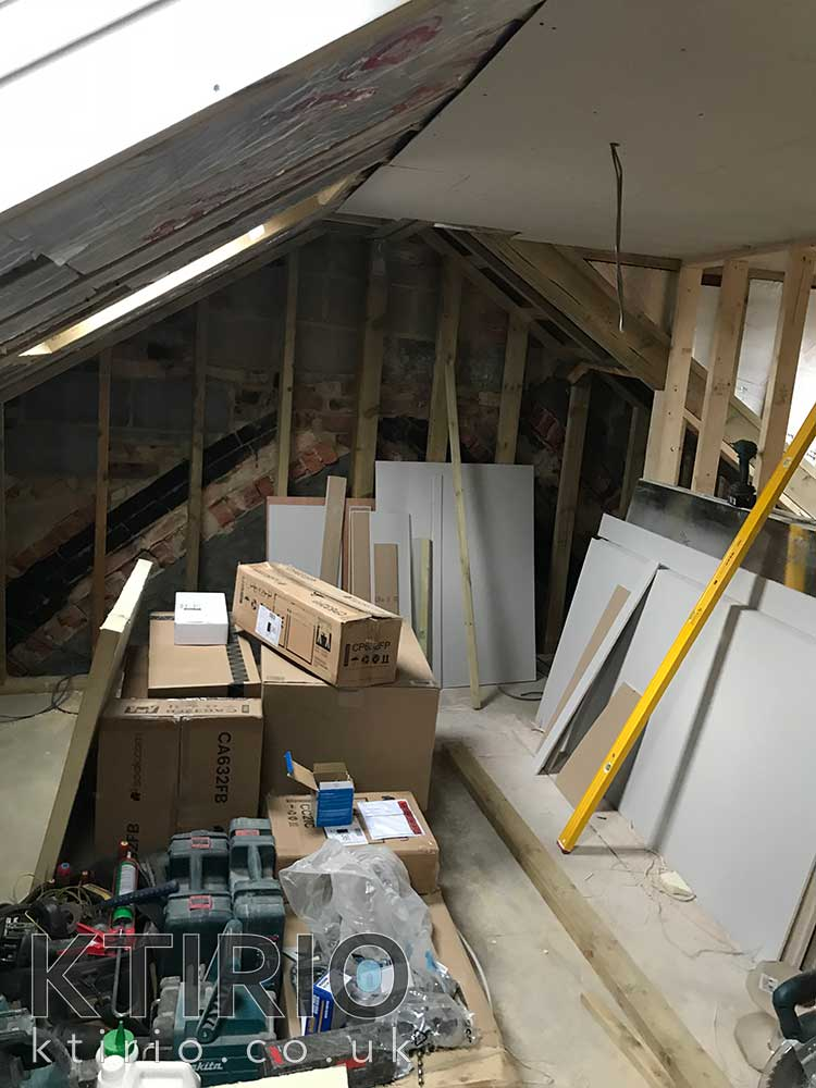 Attic conversion Swindon