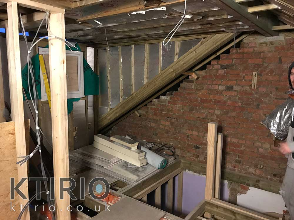 loft conversion timber work Swindon