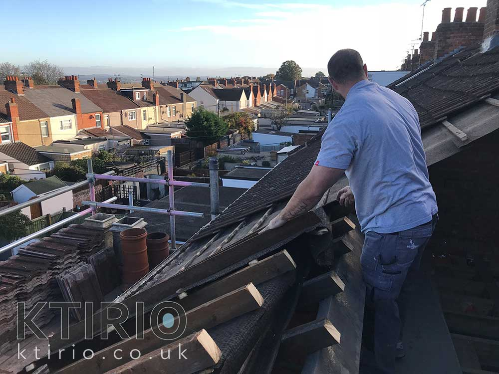 loft conversion timber work