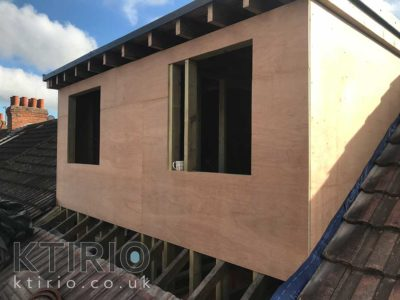 Loft conversion external work