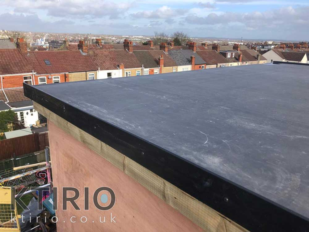 Loft conversion roof work